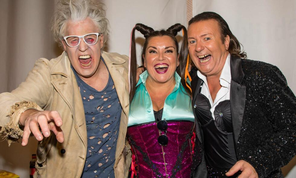 GJØR COMEBACK: Finn Schjøll, Jenny Jenssen og Svein Østvik er tre av kjendisene som lørdag gjør et helt spesielt comeback i «Skal vi danse». FOTO: Tor Lindseth/Se og Hør.