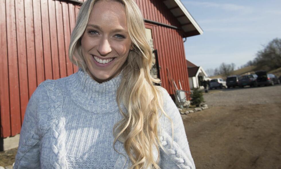 ELSKER LIVET SOM TANTE: Programleder Katarina Flatland fikk sin første niese for noen få uker siden. Foto: Lars Eivind Bones / Dagbladet