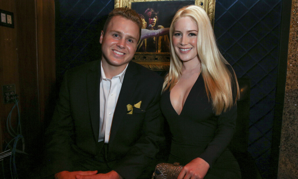 FORELDRE: Heidi Montag og ektemannen Spencer Pratt gleder seg over sin famileforøkelse. Foto: NTB Scanpix