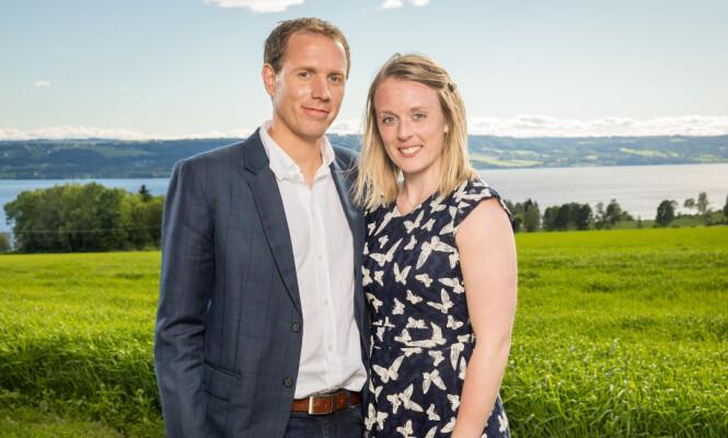 <strong>BLE OVERRASKET:</strong> Hanne Molde innrømmer overfor Se og Hør at hun ble overrasket over bade-daten. Foto: TV 2