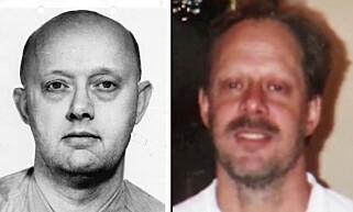 FAR OG SØNN: Her er Stephen Paddock, den mistenkte Las Vegas-skytteren, til høyre i bildet. Foto: FBI / NTB Scanpix