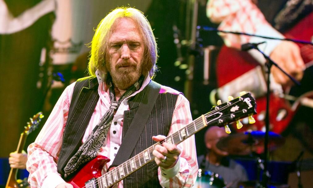 <strong>GIKK BORT ETTER HJERTESTANS:</strong> Søndag kveld ble Tom Petty funnet bevisstløs i sitt eget hjem i Malibu. Foto: Shutterstock/ NTB scanpix