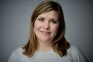 Hanna Folkvord, finansrådgiver i DNB. Foto:Stig B. Fiksdal.
