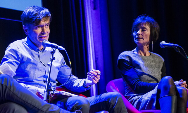 KRITISK: Sosiolog og artist Kjetil Rolness liker ikke HRS-prosjektet. Her under lanseringen av Hege Storhaug-boka «Islam. Den 11. landeplage». Foto: Benjamin Ward / Dagbladet