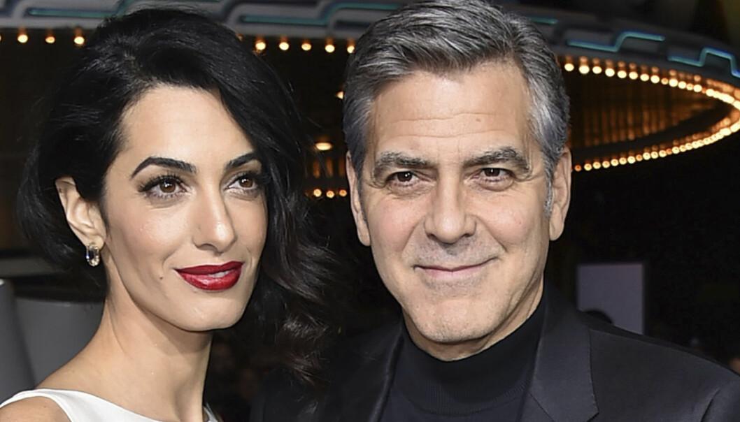 Slik er Clooneys liv som nybakt far til tvillinger