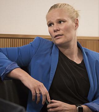 FORSVARER: Siri Langseth fra Advokatfirmaet Staff forsvarer den terrortiltalte 34-åringen. Foto: Ole Berg-Rusten / NTB Scanpix