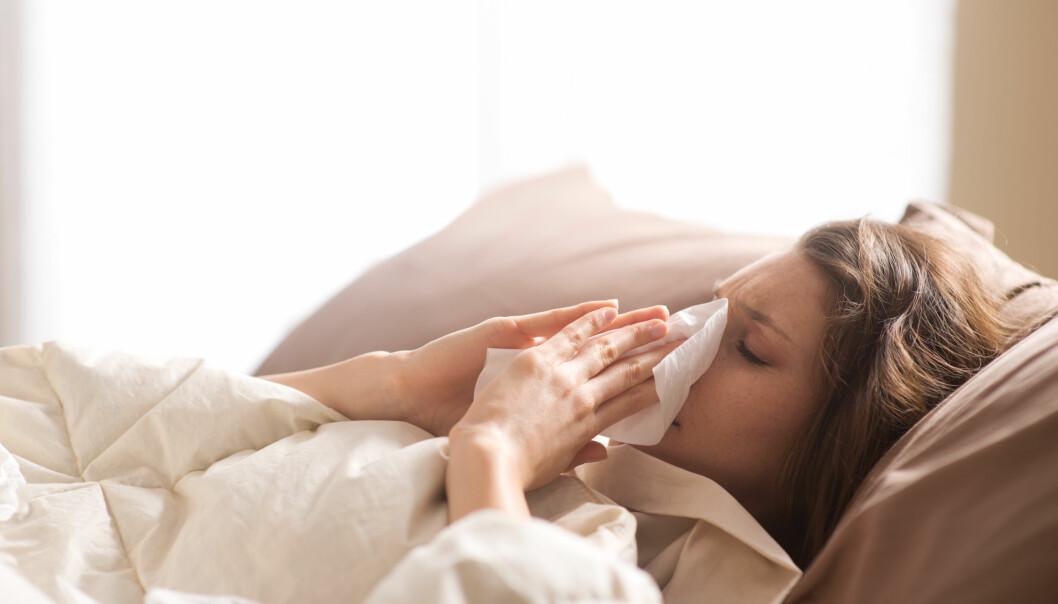IMMUNFORSVAR: Blir du ofte syk? Det er faktisk noe du kan gjøre for å unngå det. FOTO: NTB scanpix