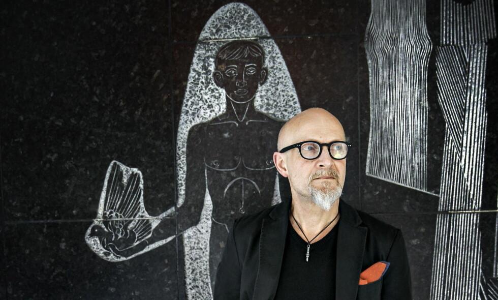 MELANKOLIENS MESTER: Lars Saabye Christensen er ute med den første romanen av tre, «Byens spor». Vår anmelder liker godt det hun leser. <br>Foto: Nina Hansen.