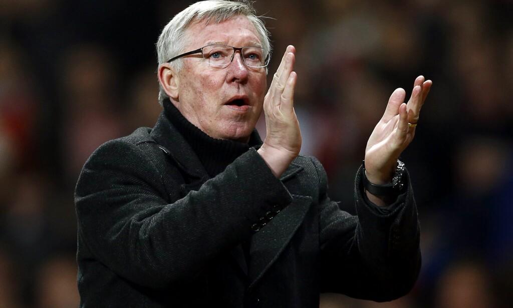 PIZZA-GATE: Sir Alex Ferguson er først og fremst kjent som en vinner. Men pizza-kastingen og sko-sparket i ansiktet til David Beckham blir også husket. Foto: NTB Scanpix