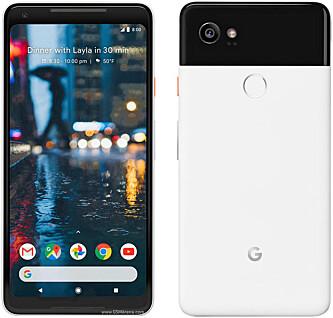<strong>NY TOPPMODELL:</strong> Google Pixel 2 XL. Foto: Google