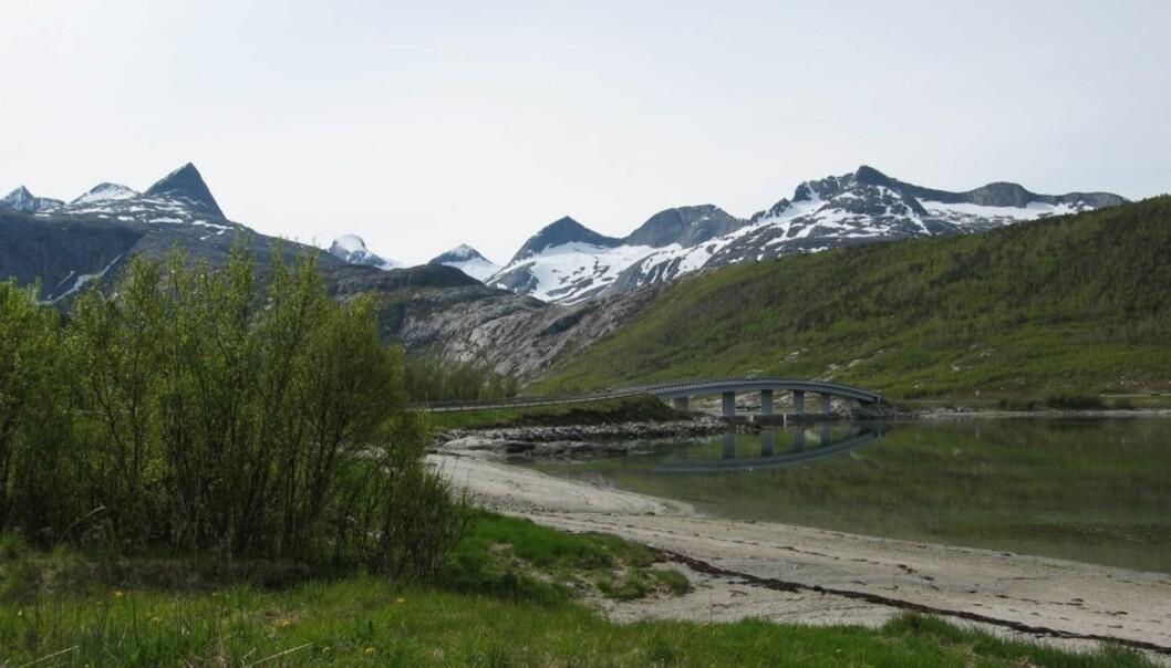<strong>VELKOMMEN TIL NORD-NORGE:</strong> Landskapet kan ta pusten fra enhver. Det ble mange stopp for å fotografere på siste tredjedelen av turen.