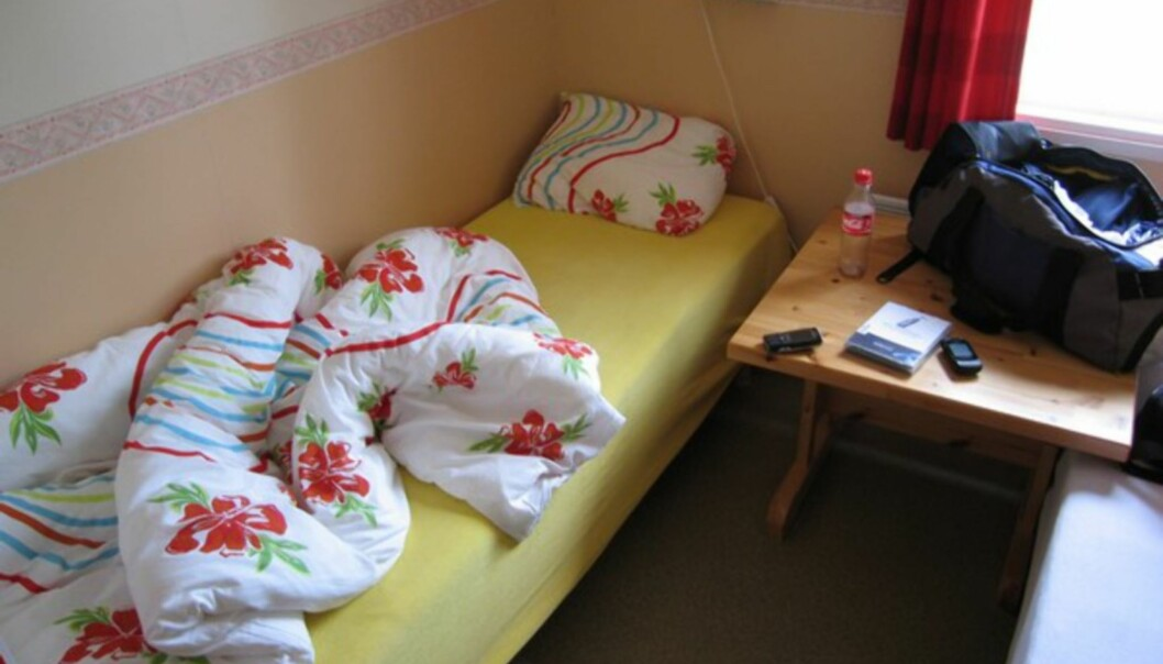 <strong>BILLIG:</strong> 250 kroner for å ligge her på Sjåvik i natt. Og standarden er langt bedre enn på Namsen Motor Hotell, der jeg betalte 850...