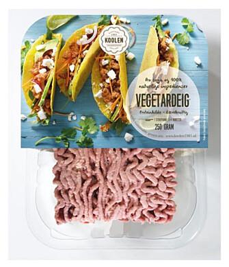 <strong>VEGETARDEIG:</strong> Nytt alternativ til kjøttdeig fra Meny.