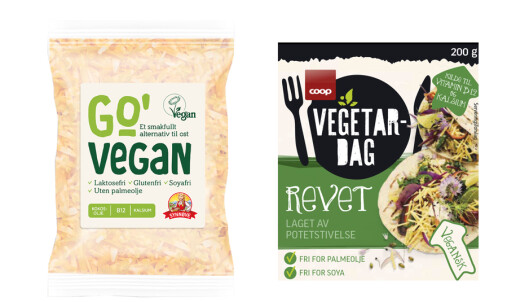 <strong>REVET:</strong> Vegansk osteerstatning fra Synnøve og Coop.