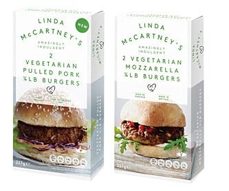 <strong>BRITISK:</strong> Linda McCartney-burgerne er svært populære i Storbritannia.