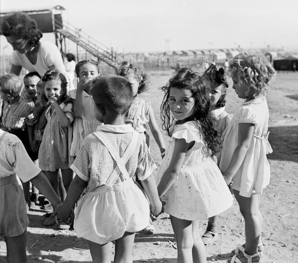 <strong>FORELDRELØSE:</strong> Det var 6000 foreldreløse barn i fangeleirene på Kypros. De hadde mistet foreldrene i Holocaust i den andre verdenskrigen. <br>Foto: Estate of Ruth Gruber/International Center of Photography