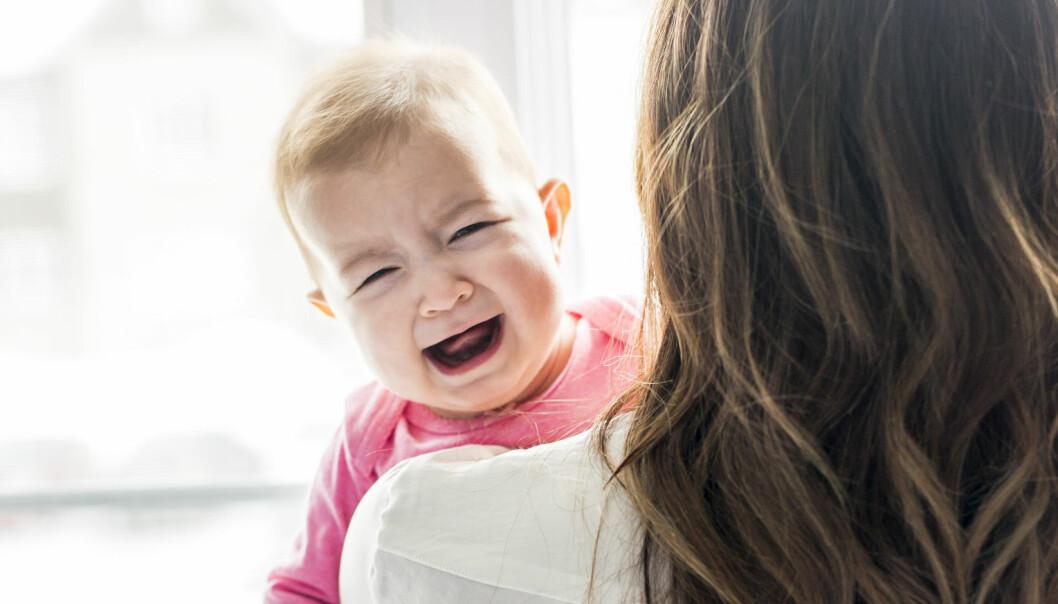 Migrene kan sannsynligvis forekomme helt ned i spedbarnsalder