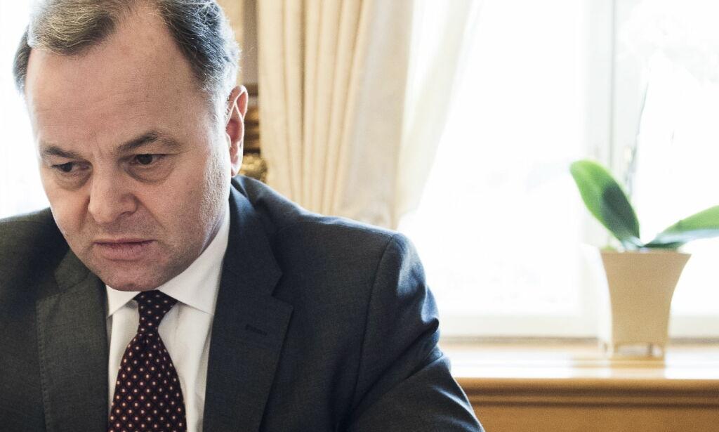 image: Olemic Thommessen burde aldri blitt stortingspresident