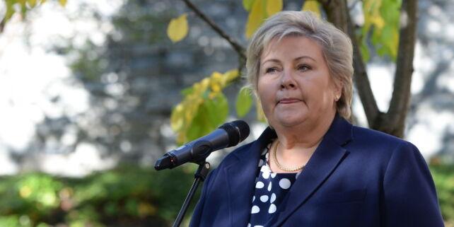 image: Erna Solberg: -Kommer ikke til å undertegne avtalen