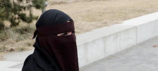 Danmarks regjering vil forby tildekking av ansikt