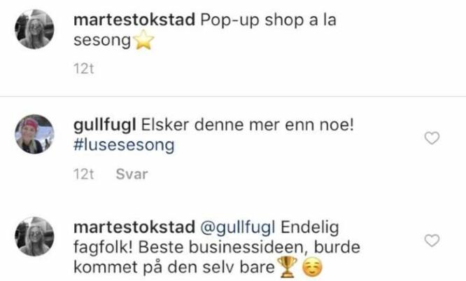 <strong>GULLFUGL:</strong> Kronprinsesse Mette-Marit går under navnet «Gullfugl» på Instagram og hun er stadig å se på sosiale medier. Foto: Skjermdump, Instagram