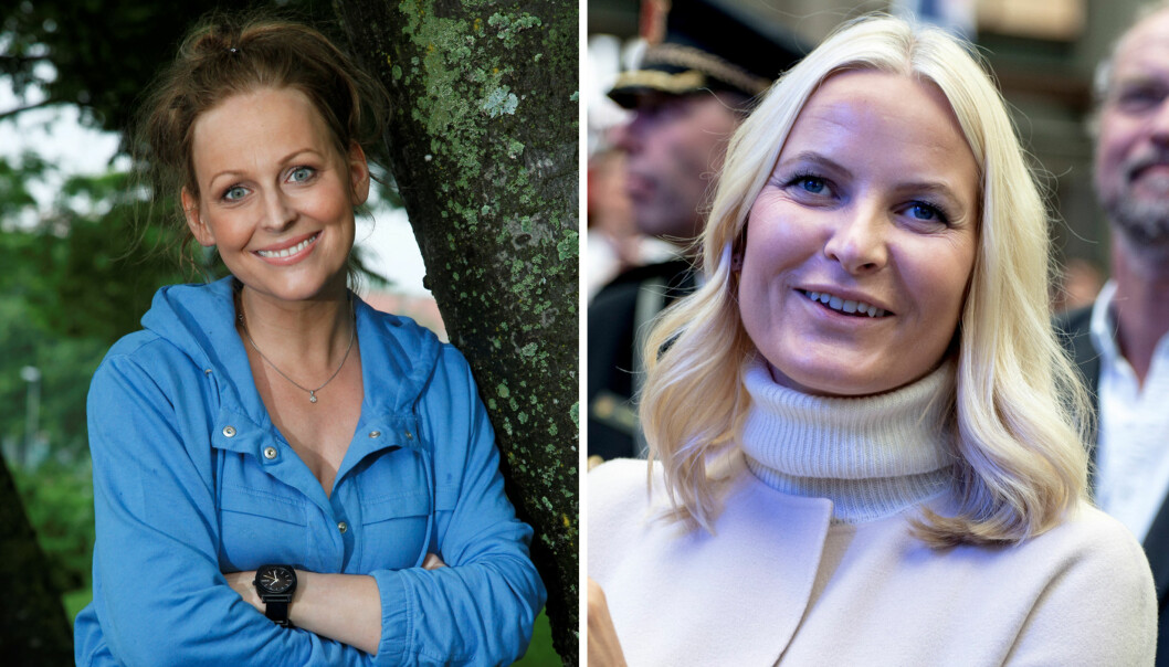 <strong>PÅ SOSIALE MEDIER:</strong> Mette-Marit overrasket med kommentar på Marte Stokstads Instagram-profil. Foto: NTB Scanpix / Tore Skaar, Se og Hør
