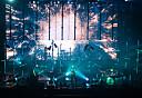 Oslo  20171006. Den islandske gruppen Sigur Rós under deres konsert i Oslo Spektrum fredag kveld. Foto: Fredrik Hagen  / NTB scanpix