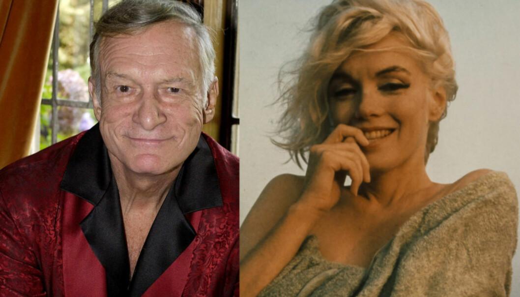 <strong>- USMAKELIG:</strong> I 1992 kjøpte Hugh Hefner seg rettigheten til å hvile ved siden av Marilyn Monroe, etter sin død. Det mener flere er særdeles urovekkende. Foto: NTB Scanpix