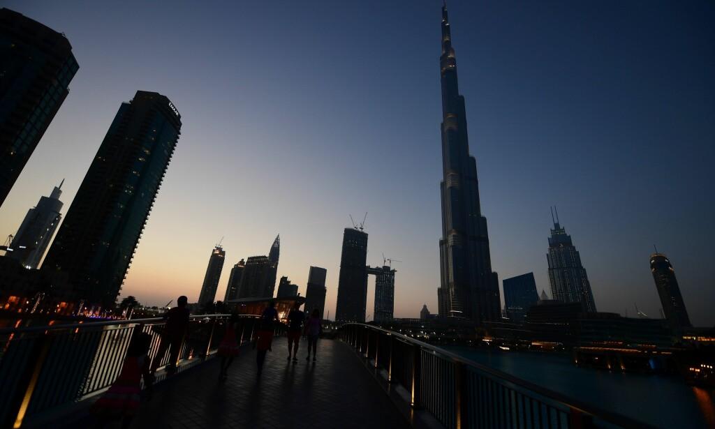 ARRESTERT: Den britiske 27-åringen kommer seg ikke ut av De forente arabiske emirater med det første. Illustrasjonsfoto: NTB Scanpix