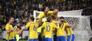 Sverige «hermet» etter Norge:- Møtte et mye bedre lag enn San Marino