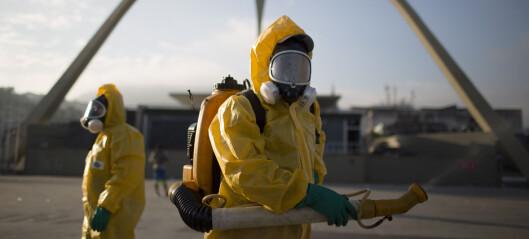 Har oppdaget myggvirus hos flere OL-utøvere