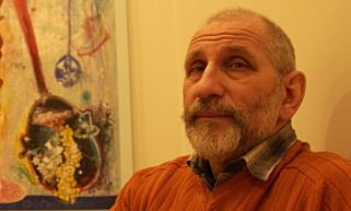 NOBEL x 3 : Willibald Storn har for tredje gang laget fredsprisdiplomet. Foto: Lars Eivind Bones