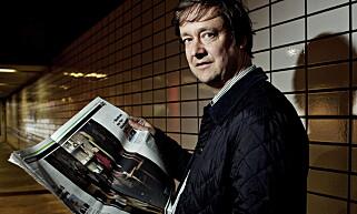 2012: John Christian Elden reagerer på nye bevis i saken mot Odd Nerdrum. Foto: Torbjørn Katborg Grønning / Dagbladet