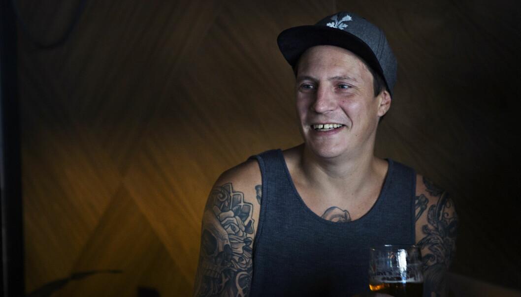 <strong>RAPPER:</strong> Pål Tøyen har vært rapper så lenge han kan huske. Foto: Frank Karlsen / Dagbladet