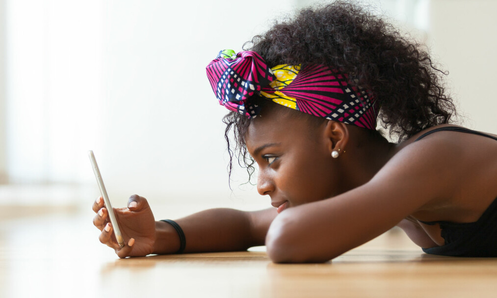 OVERDREVEN MOBILBRUK: Når blir egentlig mobilbruken et reelt problem? FOTO: NTB Scanpix