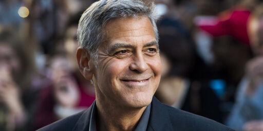 image: George Clooney tordner mot Harvey Weinstein: - Det er helt uakseptabelt