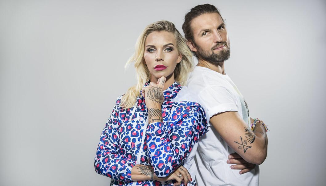 DELER FRA PRIVATLIVET: Maria og Edvard Erken Høili har sitt eget realityprogram på Viafree. FOTO: Viafree