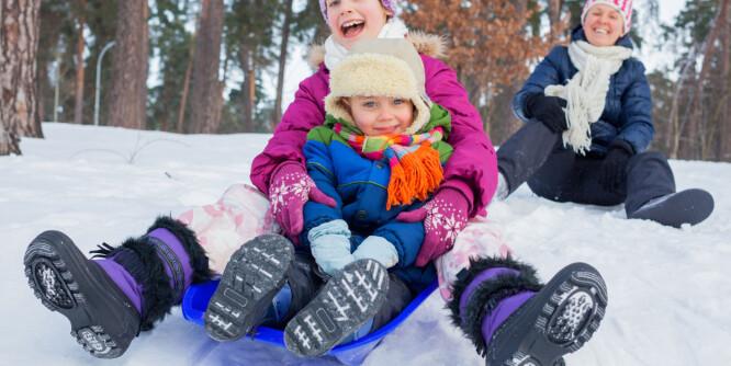Test av vintersko for barn: Se hvilke du bør velge