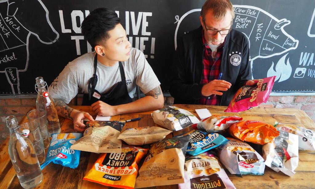 SYNES: Maaruds nye Foodtruck-serie skiller seg ut både visuelt - og smaksmessig.