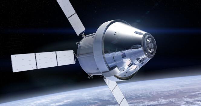 Romfartøyet Orion Foto: NASA