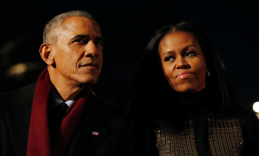 RAGERER: Barack Obama og Michelle Obama. Foto: Reuters / NTB Scanpix