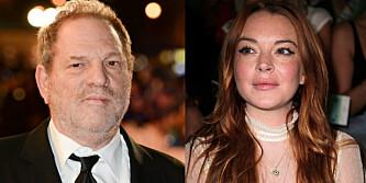 Mens «hele» Hollywood vender Weinstein ryggen, valgte Lindsay Lohan å komme med støtteerklæringer