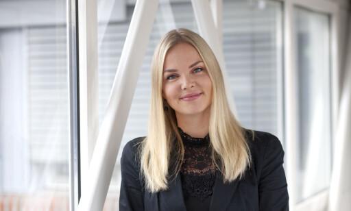 Christin Dammen, kommunikasjonsrådgiver i Lånekassen. Foto: Jannecke Sanne Normann.
