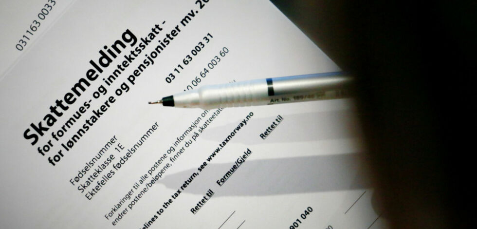 image: Regjeringen vil fjerne skatteklasse 2