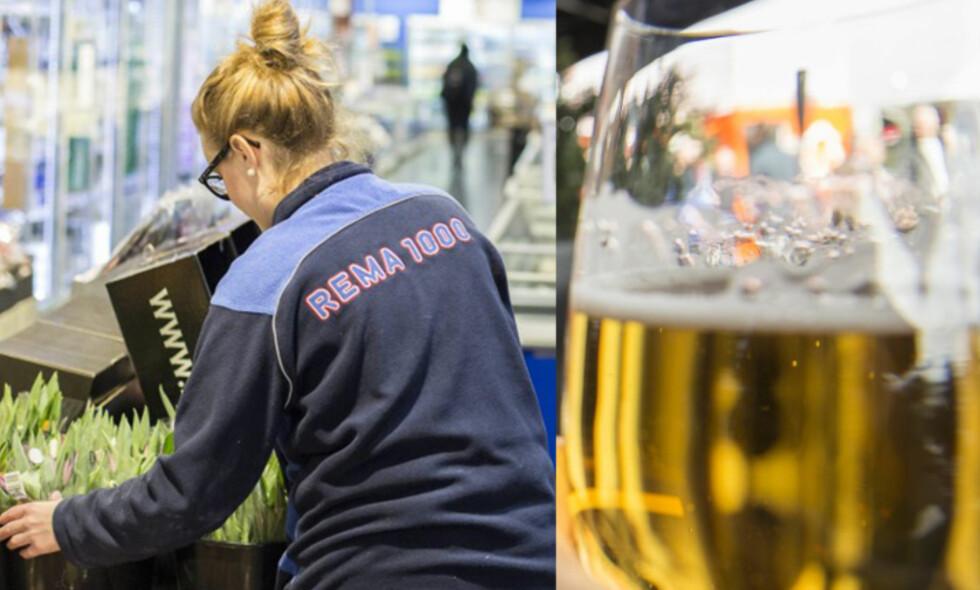 DRISTIGE IDEER: En av professorene Dagbladet har snakket med, anbefaler å halvere prisen på øl og brus. Foto: NTB Scanpix og Lars Eivind Bones