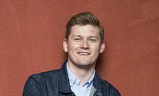 Mats Johansen Beldo, leder i Norsk studentorganisasjon (NSO). Foto: Skjalg Bøhmer Vold.