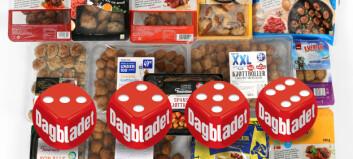 Ernæringstest: Her er de sunneste kjøttbollene