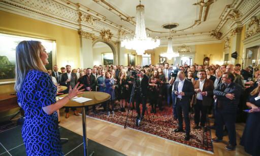 INVITERTE: Kulturminister Linda Hofstad Helleland. Foto: NTB Scanpix