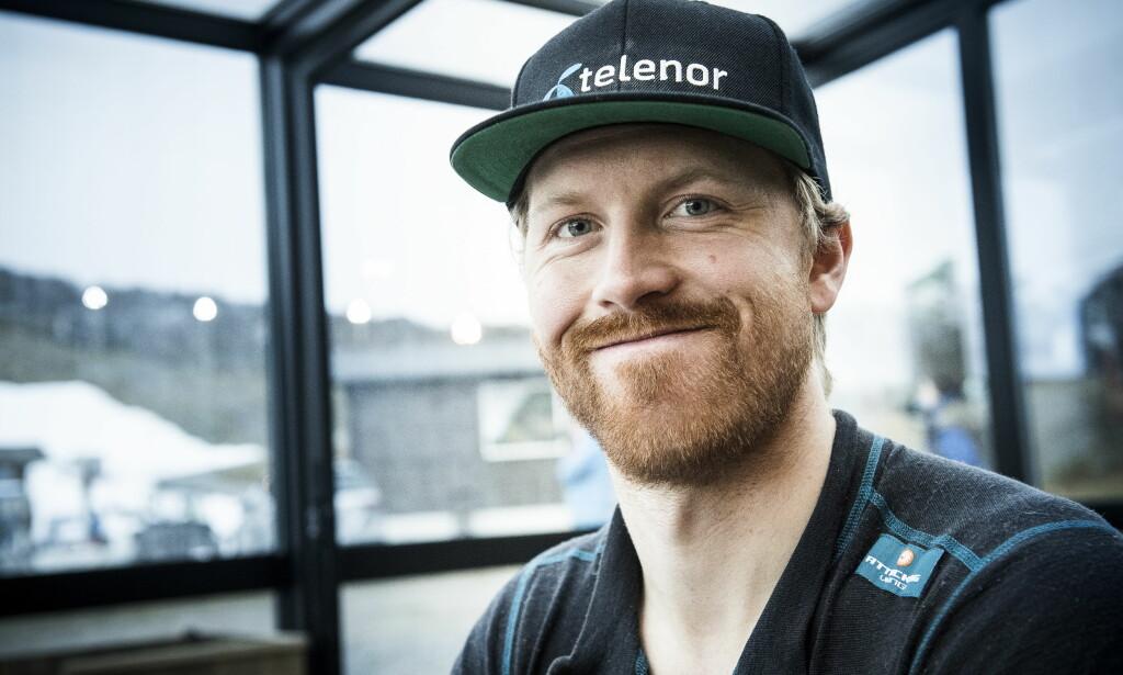 TILBAKE ETTER KYSSESYKE: Leif Kristian Haugen ble slått ut av kyssesyke etter bryllupet i sommer. Foto: Lars Eivind Bones