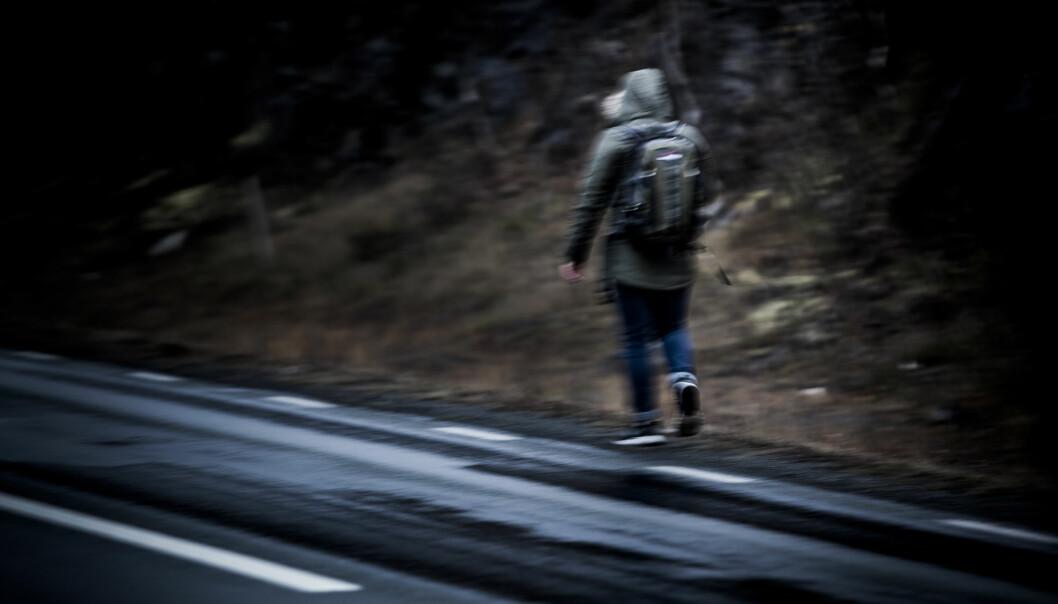 """<strong>PÅ FLUKT:</strong> Afghanske """"Armin"""" er et av de såkalte oktoberbarna som har rømt fra Norge denne høsten i frykt for utsending til Kabul. Foto: Christian Roth Christensen / Dagbladet"""